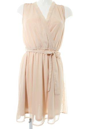 Promod Volante jurk nude elegant