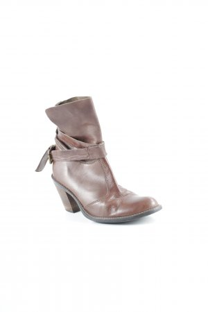 Promod Stivaletto western marrone stile country