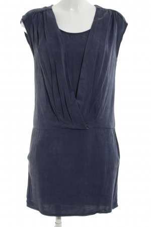 Promod Wickelkleid blau Business-Look