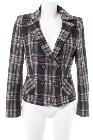 Promod Wool Blazer glen check pattern Brit look