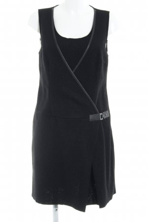 Promod Robe en laine noir élégant