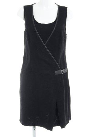 Promod Wollkleid schwarz Elegant