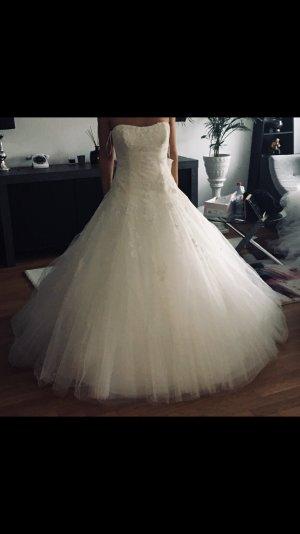 Pronovias Robe de mariée blanc cassé-blanc
