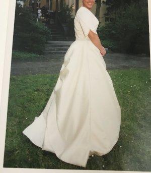 Pronovias Vestido de novia crema-blanco puro
