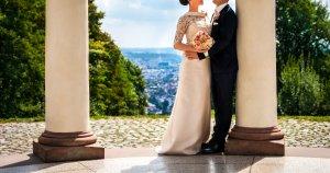 PRONOVIAS Kleid Hochzeit Brautkleid Gr S 36 Top wie NEU creme