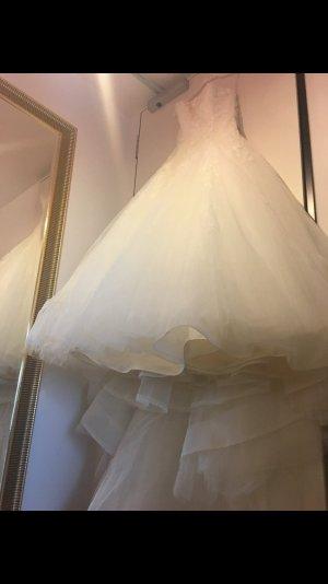 Pronovias Robe de mariée blanc cassé