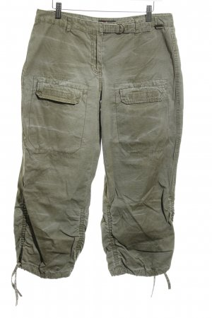 Protest 3/4 Length Trousers green grey casual look