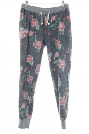 Protest Sweat Pants flower pattern casual look