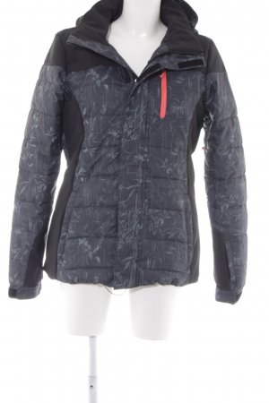 Protest Winterjacke florales Muster Materialmix-Look
