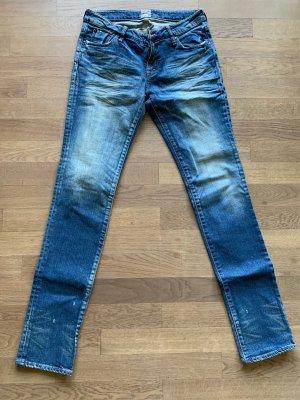 Prps Jeans cigarette bleu coton