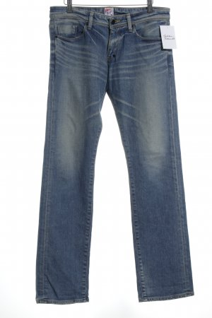 Prps Jeansschlaghose blau Casual-Look