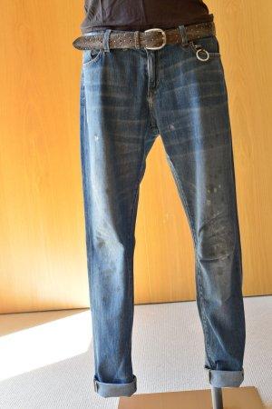 PRPS Purpose Heirloom Jeans 30 Destroyed Boyfriend usedlook unisex low waist