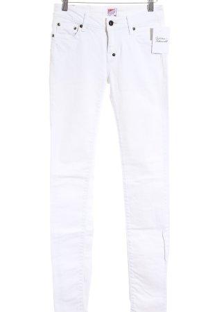 Prps Skinny Jeans weiß Used-Optik