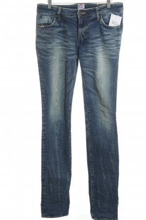 Prps Slim Jeans dunkelblau Used-Optik