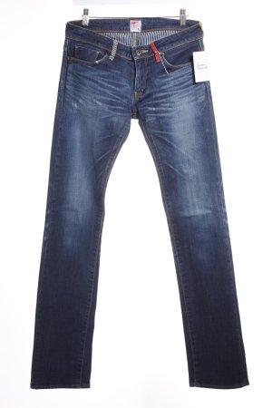 Prps Jeans met rechte pijpen blauw-donkerblauw casual uitstraling