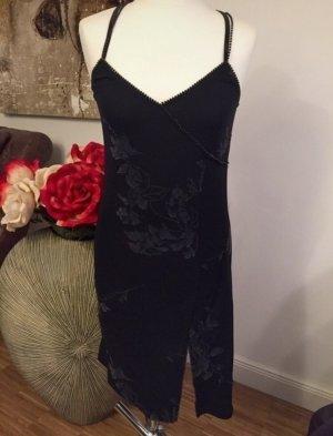 PS Company: Sexy figurbetontes Kleid mit Schlitz in Schwarz Gr. 38 nur 2x getragen