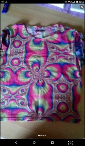Psychedelic Shirt knallbunt