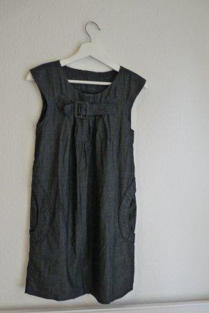 Psycho Cowboy Denim Jeans Kleid S 36 38 *NEU* Fashion Blogger Designer