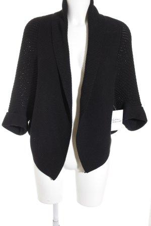 Public Cardigan schwarz Casual-Look