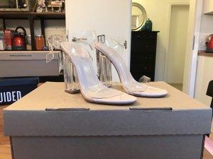 Public Desire High Heel Sandal nude