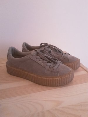 Public Desire Creeper Sneaker 36 grau/gum Plateau puma fenty Style