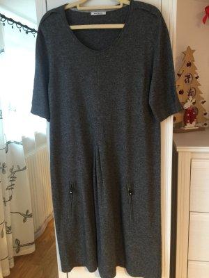Public Kleid Grau Wolle Kaschmir Strickkleid Tunika 40/L