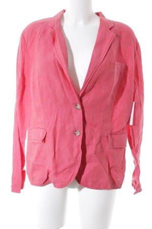 Public Blazer corto rosso chiaro stile semplice
