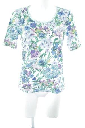 Public Rippshirt Blumenmuster extravaganter Stil