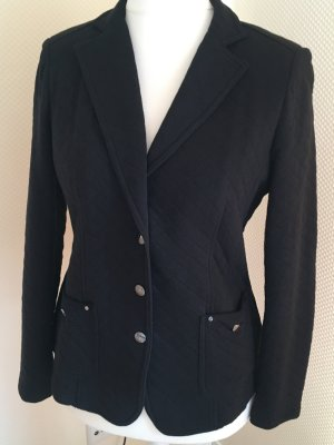 Public Knitted Blazer black cotton