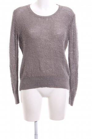 Public Strickpullover lila Webmuster Casual-Look