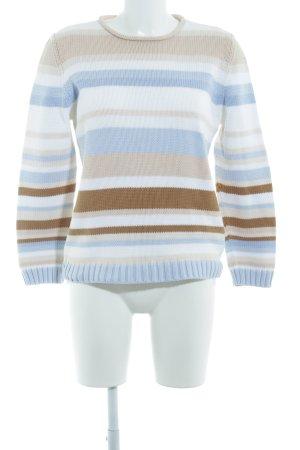 Public Maglione lavorato a maglia motivo a righe stile casual
