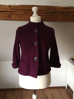 Public Wolljäckchen Jäckchen Jacke lila purpur 40 L Cardigan Mantel Blouson