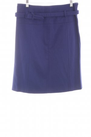 Public Wool Skirt blue business style