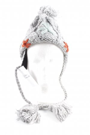 Bobble Hat grey casual look