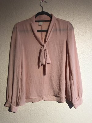 H&M Tie-neck Blouse multicolored