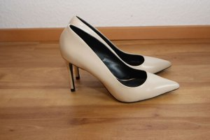 Puderfarbene Zara High-Heels