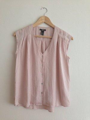 puderrosa Bluse von H&M