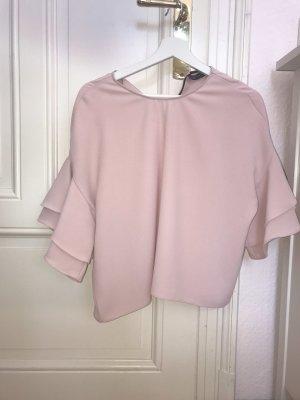 Puderrosa Bluse von Zara