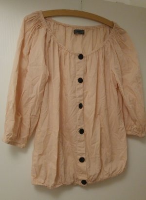 puderrosa farbenes Shirt von Only