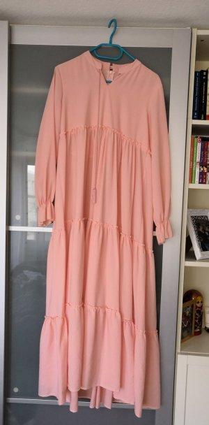 Modanisa Vestido largo rosa claro