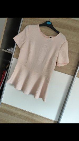 H&M Camicetta a blusa rosa pallido