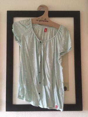 Pünktchen-Bluse kurzärmlig von ESPRIT