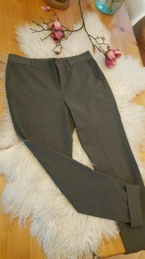 Opus Pantalon blanc-gris