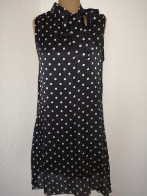 Pünktchen Seiden Kleid von Sisley