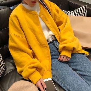 Puff Sleeve Cardigan - korea