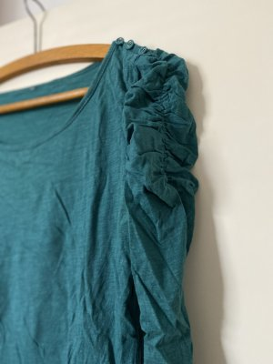 Chemise côtelée bleu cadet