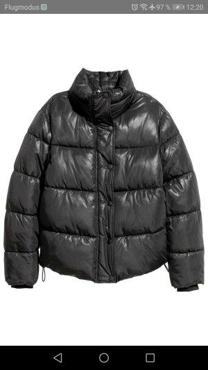 pufferjacke H&M schwarz
