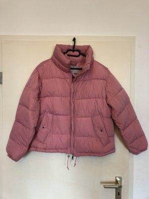 Pufferjacke PULL&BEAR rosa M
