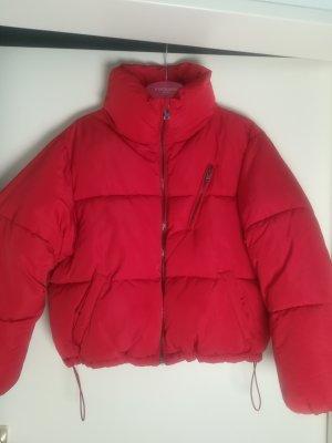Bershka Chaqueta holgada rojo