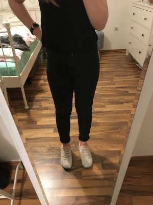 Pull and Bear Highwaist Skinny Jeans, Schwarz/Grau , W 26, L 32 - Gr 36,Jeggings
